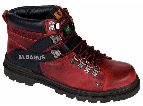 Bota Álbarus Adventure 8309 - Vermelha - Loja  Álbarus