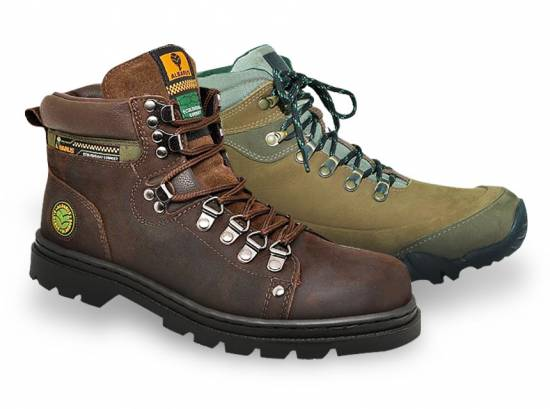 Kit Bota Denton Marron + Bota Intrudder Oliva